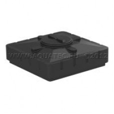 Бак для душа 240 (черный) (1100х1100х300)