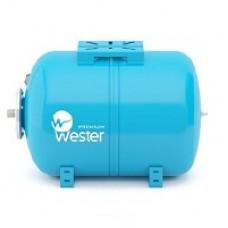 Мембранный бак для водоснабжения горизонтальный Wester  WAO150